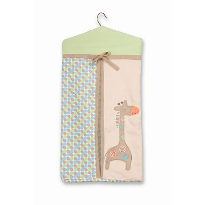 Sumersault Animal Spots and Stripes Diaper Stacker
