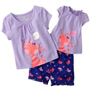 Jumping Beans Kitty Pajama Set - Toddler
