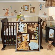 Lambs and Ivy Animal Antics 5-pc. Crib Set