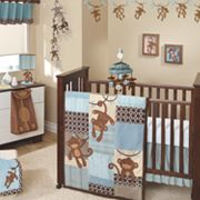 Lambs and Ivy Giggles 5-pc. Crib Set
