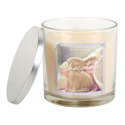 SONOMA life + style 14-oz. Chocolate Bunny Filled Candle
