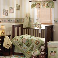 Lambs & Ivy 5 pc Papagayo Crib Set