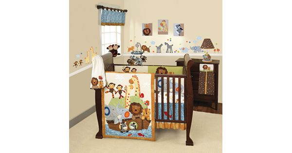 Lambs And Ivy S S Noah 5 Pc Crib Set