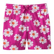 Jumping Beans Floral Bermuda Shorts - Toddler