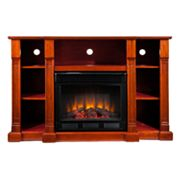 Chaucer Media Console and Electric Fireplace
