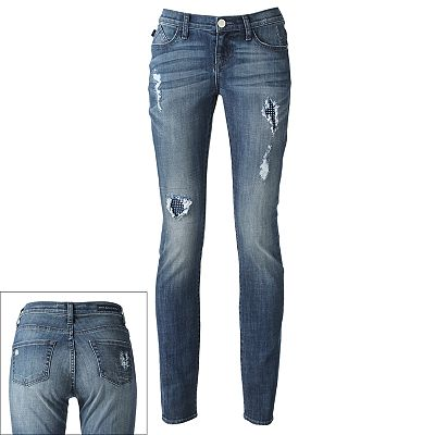 Rock and Republic Berlin Distressed Skinny Jeans