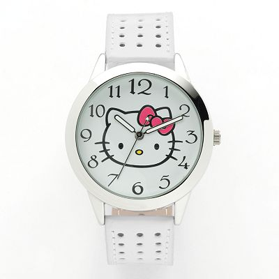 Hello Kitty Silver Tone Watch - Juniors