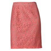 Apt. 9 Lace Pencil Skirt - Petite