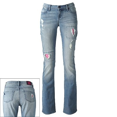 Rock and Republic Kasandra Distressed Bootcut Jeans