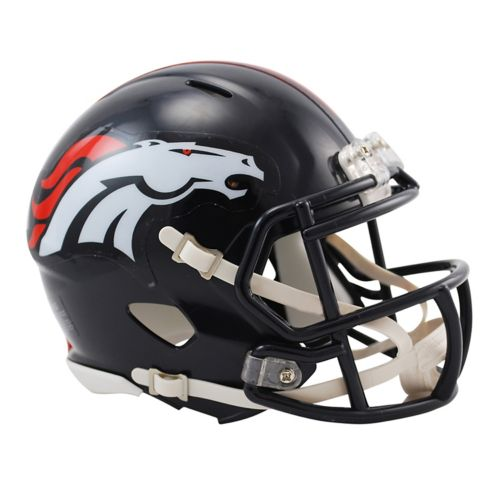 Riddell Denver Broncos Revolution Speed Mini Replica Helmet