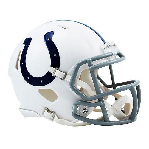 Riddell Indianapolis Colts Revolution Speed Mini Replica Helmet