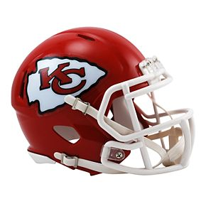 cae59e314 Riddell Kansas City Chiefs Revolution Speed Mini Replica Helmet