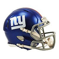 Riddell New York Giants Revolution Speed Mini Replica Helmet