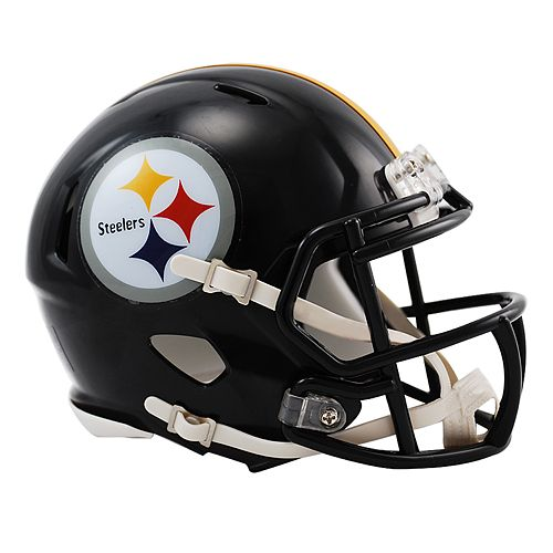 Riddell Pittsburgh Steelers Revolution Speed Mini Replica Helmet