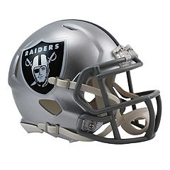 Riddell Oakland Raiders Revolution Speed Mini Replica Helmet