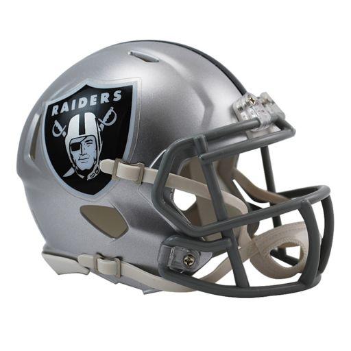 Riddell Oakland Raiders Revolution Speed Mini Replica Helmet