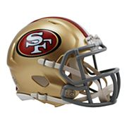 Riddell San Francisco 49ers Revolution Speed Mini Replica Helmet
