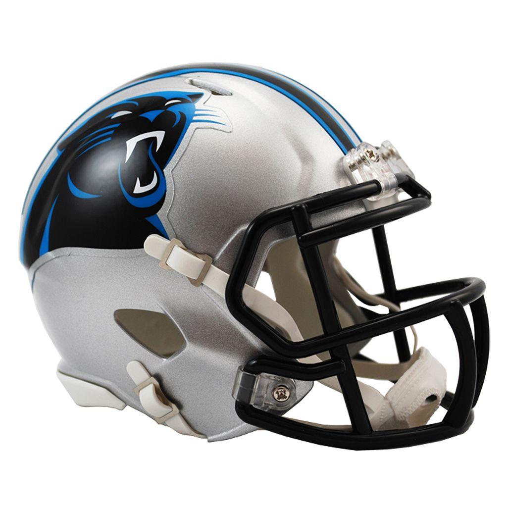 Riddell Carolina Panthers Revolution Speed Mini Replica Helmet