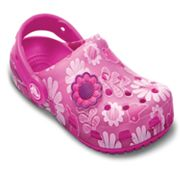 Crocs Chameleons Floral Clogs - Girls