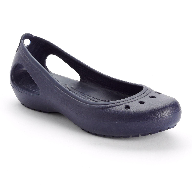 Crocs Blue Kadee Slip-On Shoes - Women