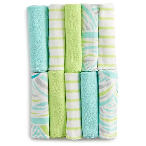 Just Born® 10-pk. Terry Washcloths