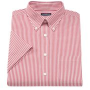 Croft and Barrow Classic-Fit Oxford Striped Button-Down Collar Dress Shirt