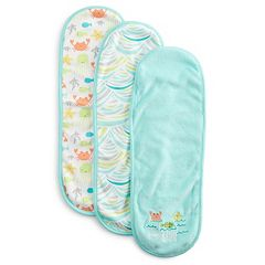 Just Born 3-pk. Terry Burp Cloths