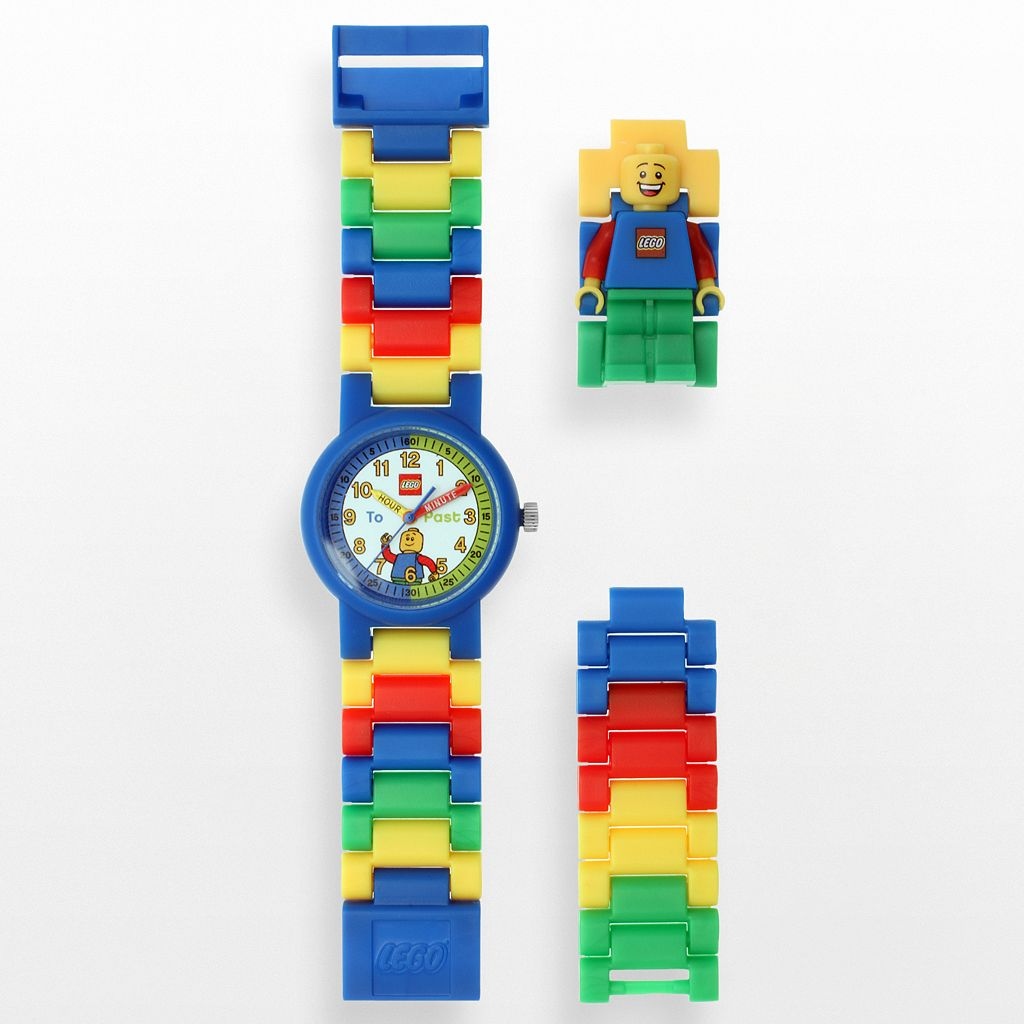 LEGO Kids' Time Teacher Watch & Construction Clock Set - 9005008