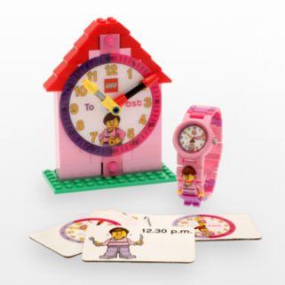 LEGO Kids' Time Teacher Watch & Construction Clock Set - 9005039
