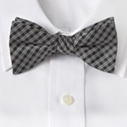 Croft and Barrow Grid Pretied Bow Tie