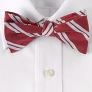 Croft and Barrow Striped Pretied Bow Tie