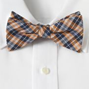 Croft and Barrow Martin Plaid Pretied Bow Tie