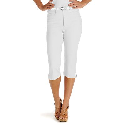 Lee Color Denim Skimmer Pants - Petite