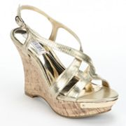 Jennifer Lopez Platform Wedge Sandals - Women