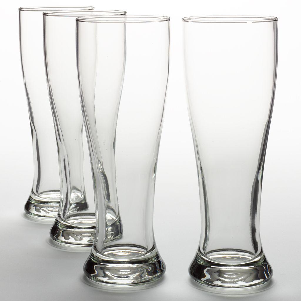 Libbey Midtown 4-pc. Pilsner Glass Set
