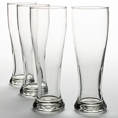 Libbey Midtown 4 pc Pilsner Glass Set