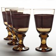 Libbey Nova Brown 4-pc. Goblet Set