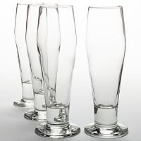 Libbey Craft Brew 4 pc Classic Pilsner Glass Set