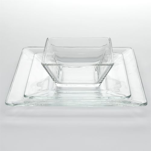Libbey Tempo 12-pc. Glass Dinnerware Set