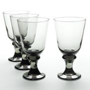 Libbey Nova 4-pc. Black Goblet Set