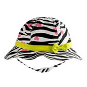 Jumping Beans Zebra Striped Sun Hat - Toddler