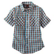 Tony Hawk Tiny Gingham Button-Down Shirt - Boys 8-20
