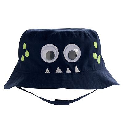 Jumping Beans Monster Googly Eye Bucket Hat - Baby