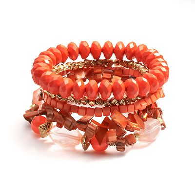 SONOMA life + style Beaded Stretch Bracelet Set