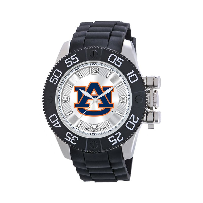 Game Time Beast Series Auburn Tigers Stainless Steel Watch - COL-BEA-AUB - Men