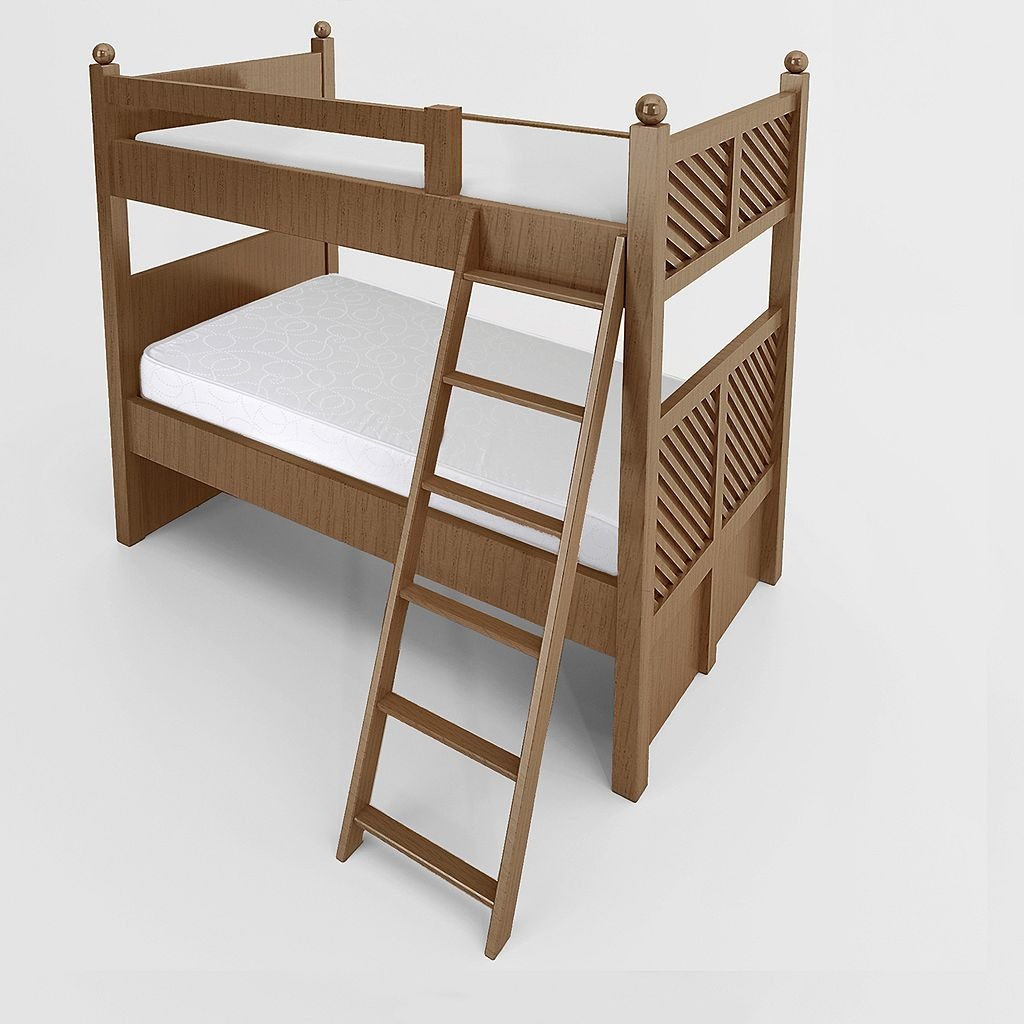 Cameo Two-Sided Foam Bunk Bed Mattress - XL Twin