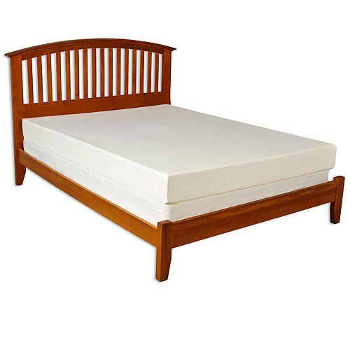 Cameo 6-in. Memory Foam Mattress & Pillows - Queen
