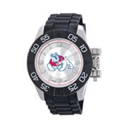 Game Time Beast Series Fresno State Bulldogs Stainless Steel Watch - COL-BEA-FRE - Men