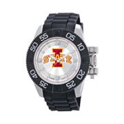 Game Time Beast Series Iowa State Cyclones Stainless Steel Watch - COL-BEA-IAS - Men