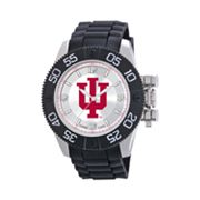 Game Time Beast Series Indiana Hoosiers Stainless Steel Watch - COL-BEA-IND - Men